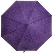 Складной зонт Magic с проявляющимся рисунком, фиолетовый